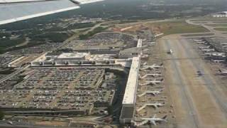 Departure from Hartsfield-Jackson Atlanta International Airport