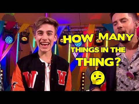 Johnny Orlando Plays How Many Things In The Thing? (CBBC Summer Social, 4/8/18)