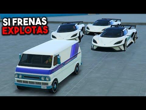 SI FRENAS EXPLOTAS! TODOS A POR MI! - GTA V ONLINE - GTA 5 ONLINE