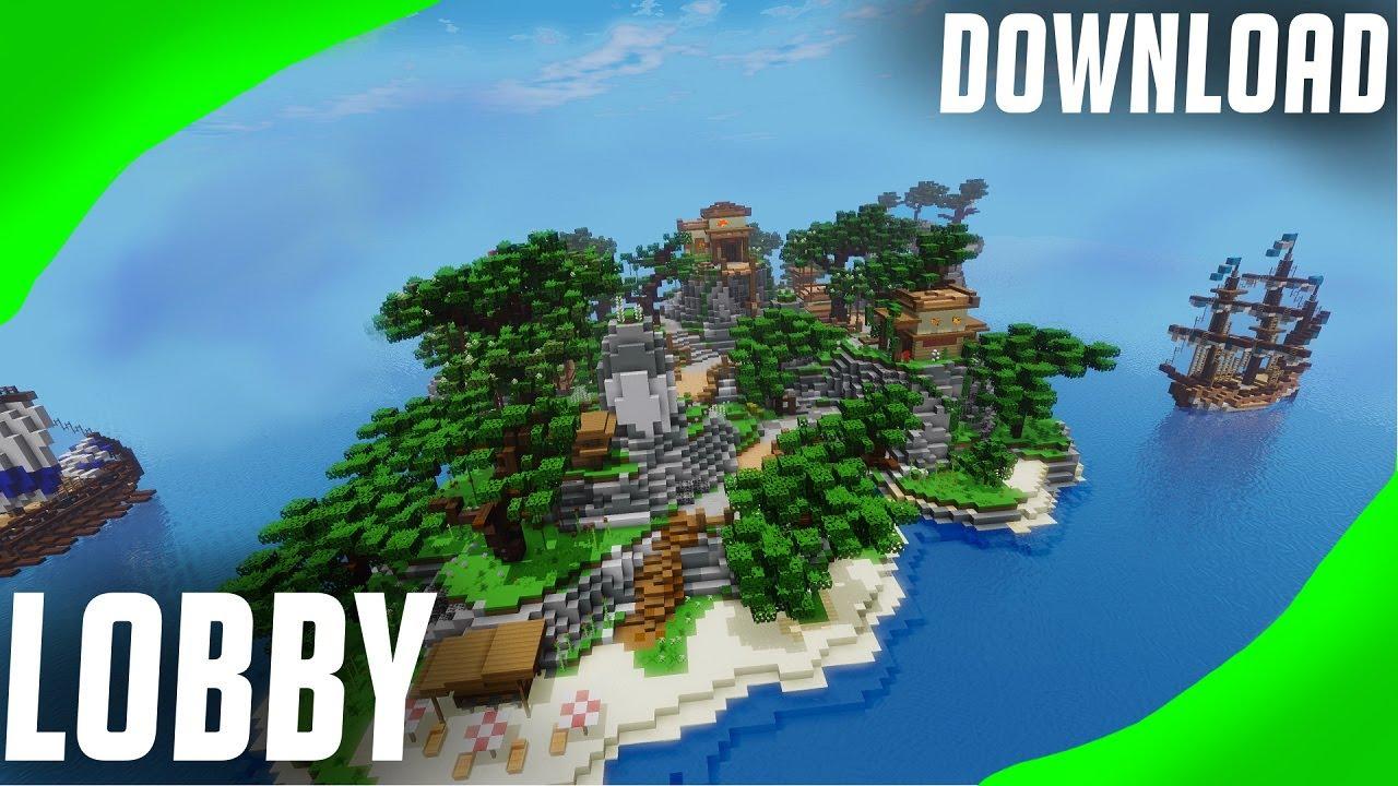 Minecraft MAP LOBBY / HUB ○   FREE DOWNLOAD LINK ZIP ○ HUB