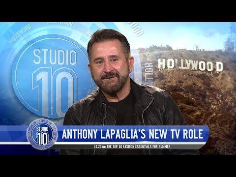 Anthony LaPaglia's New Role   Studio 10
