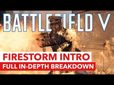 Battlefield V Firestorm: Full Intro Trailer Breakdown - In-Depth Look at HUD, Map, Weapons & More! thumbnail