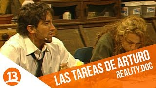 Arturo Longton no se acostumbra a las tareas del encierro   Reality.doc