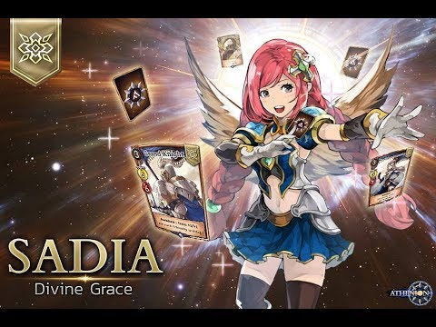 DIVINE GRACE - SADIA DECK | ATHENION GAMEPLAY - NEW CCG GAMES ANDROID 2019