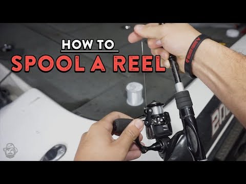 How To Spool A Spinning Reel | Bass Fishing Basics