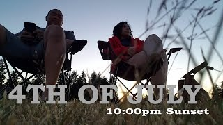 JBLM 4th OF JULY FIREWORKS [Doug&Marie'sLife S3E21] Military Couple's Vlog