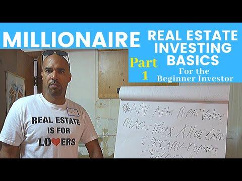 Millionaire Real Estate Investing Basics for beginning investors