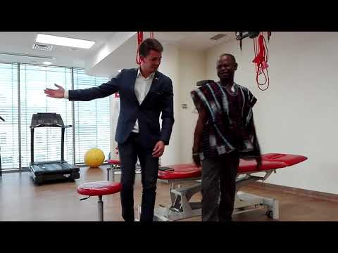 Mr. Ignatius medical journey from Ghana to Poland