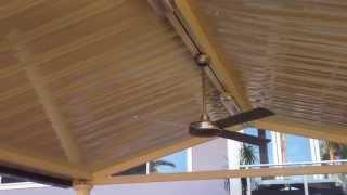 Pitched Roof Pergola