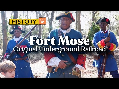 America's Original Underground Railroad Went South To Florida | Fort Mose