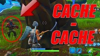 CACHE-CACHE SERVEUR PRIVE FORTNITE !!!