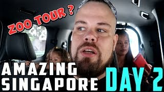 Family Travel Vlog: Amazing Singapore Day 2 Singapore Zoo and Night Safari