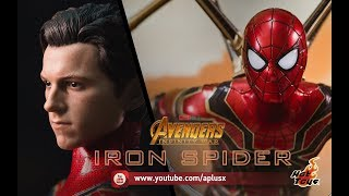 Hottoys : IRON SPIDER Avengers InfinityWar [MMS482]