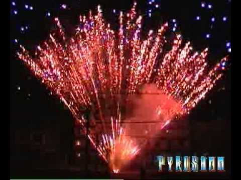 PYROSAMM 1000 shot cakes Worlds most awesome fireworks