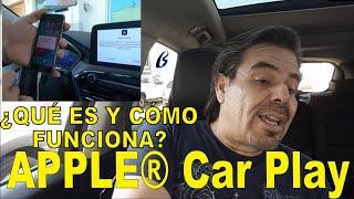 ¿Qué es y como funciona el Apple® Car Play ?
