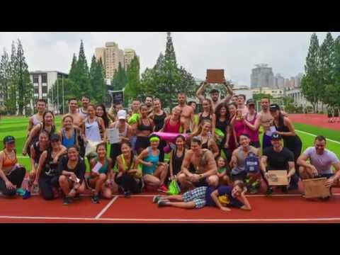 CHARITY GAMES by J-FIT Official Event in Shanghai