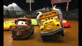 Download MATER does some TRACTOR TIPPING & has to answer to MISS FRITTER @ THUNDER HOLLOW SMASH & CRASH DERBY Mp3 and Videos