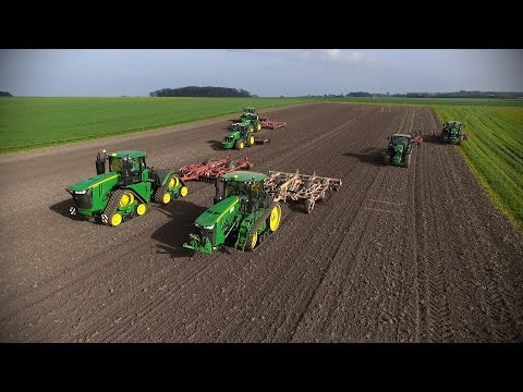 BIG FARM IN FRANCE | 2000 HP | 7x John Deere | 9620rx