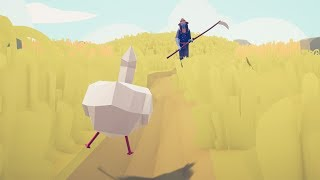CHICKEN vs EVERY UNIT - Totally Accurate Battle Simulator TABS