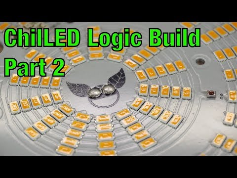 ChilLED Logic 100W PCB Parallel Puck Build Part 2 - YouTube