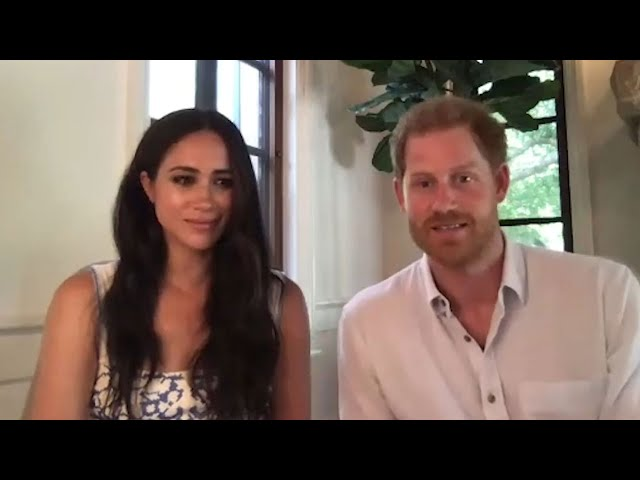 Meghan Markle and Prince Harry Show Queen Elizabeth Some MAJOR LOVE!