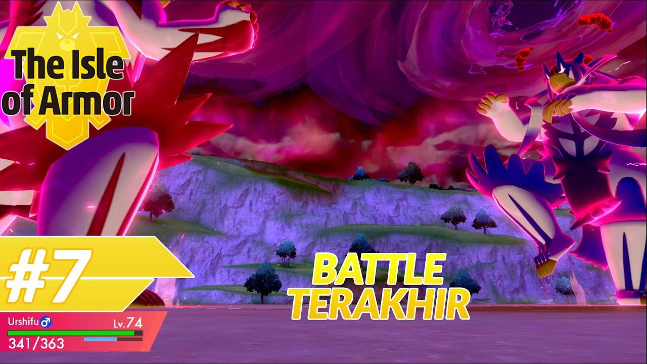 PERTARUNGAN AKHIR LAWAN MASTER PAKE GIGANTAMAX URSHIFU!- Pokemon Shield Isle of Armor #EP7
