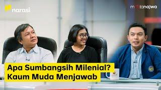 Unjuk Sumpah Anak Muda: Apa Sumbangsih Milenial? Kaum Muda Menjawab (Part 3) | Mata Najwa