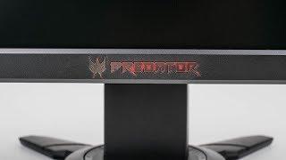 Acer Predator XB252Q mit einer Top-240Hz-Performance