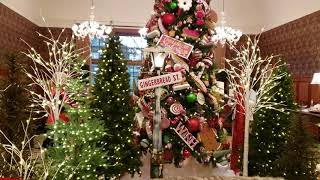 Royal Park Hotel Christmas Gingerbread Display 2019