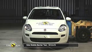 Euro NCAP Crash Test of Fiat Punto