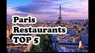 Paris best restaurants