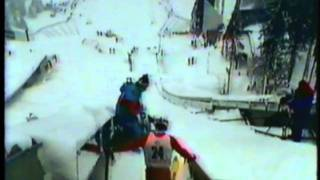 1984 Winter Olympics - Nordic Combined 3rd Jump