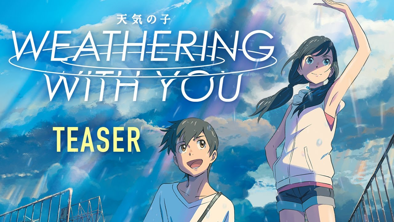 Weathering With You Official Subtitled Teaser Gkids January 17 Youtube