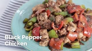 Black Pepper Chicken Recipe | Yummy Ph
