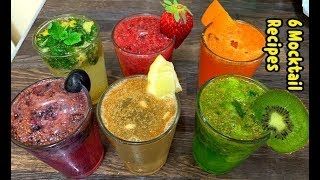 6 Refreshing Summer Mocktail Drink Recipes By Yasmin's Cooking