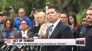 FBI defines San Bernardino mass shooting as ′terrorism′