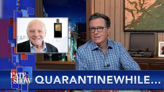 Quarantinewhile...Now We Know What Anthony Hopkins Smells Like