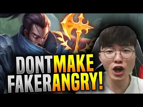 Don't Make Faker Angry with Yasuo! - SKT T1 Faker Plays Yasuo Mid! | SKT T1 Replays
