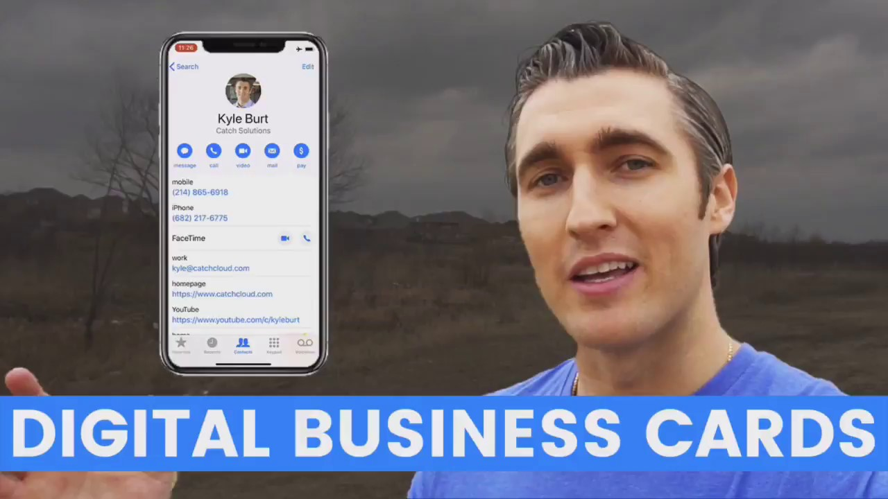 How To Make A Digital Business Card for Prospecting - YouTube