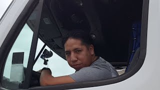 Truck Driving Student Johnny Backing In Miami