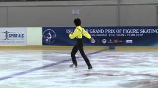 14 Shu NAKAMURA (JPN) - ISU JGP Istanbul 2012 Junior Men Short Prog...