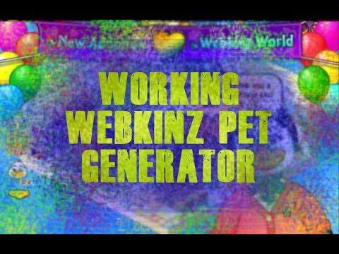 Working Webkinz Pet Generator: No password needed!