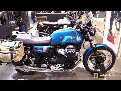 2018 Moto Guzzi V7 III Special - Walkaround - 2017 EICMA Milan Motorcycle Exhibition