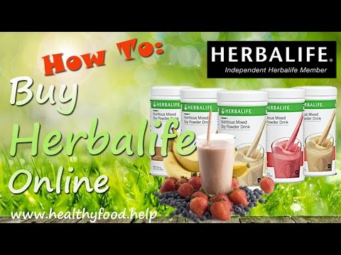 How to Buy Herbalife Online - Get Real Herbalife Products Online Fast, Easy and Secure
