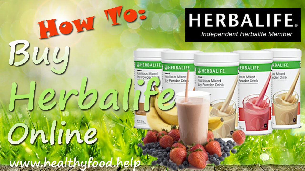 How to Buy Herbalife Online - Get Real Herbalife Products ...