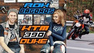Riding the 390 Duke in Slovenia with KTM UK & Rok Bagoros!