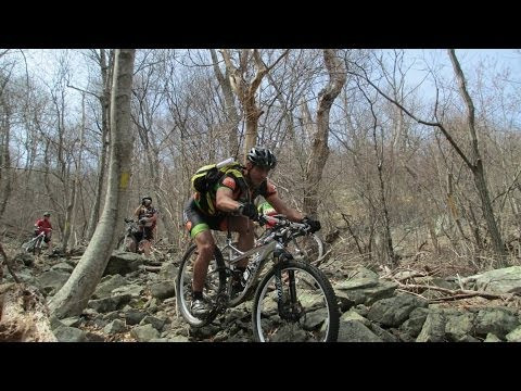 Cleaning the rock line on the TMP DH