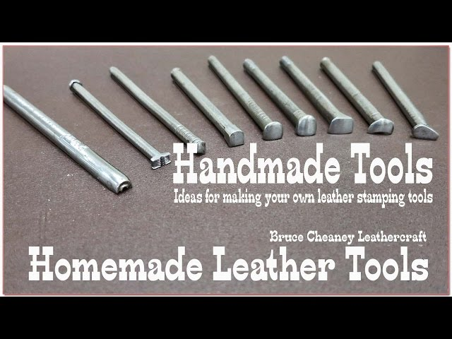 Handmade Tools - Homemade Tools - Leather Tools - Leathercraft Forum