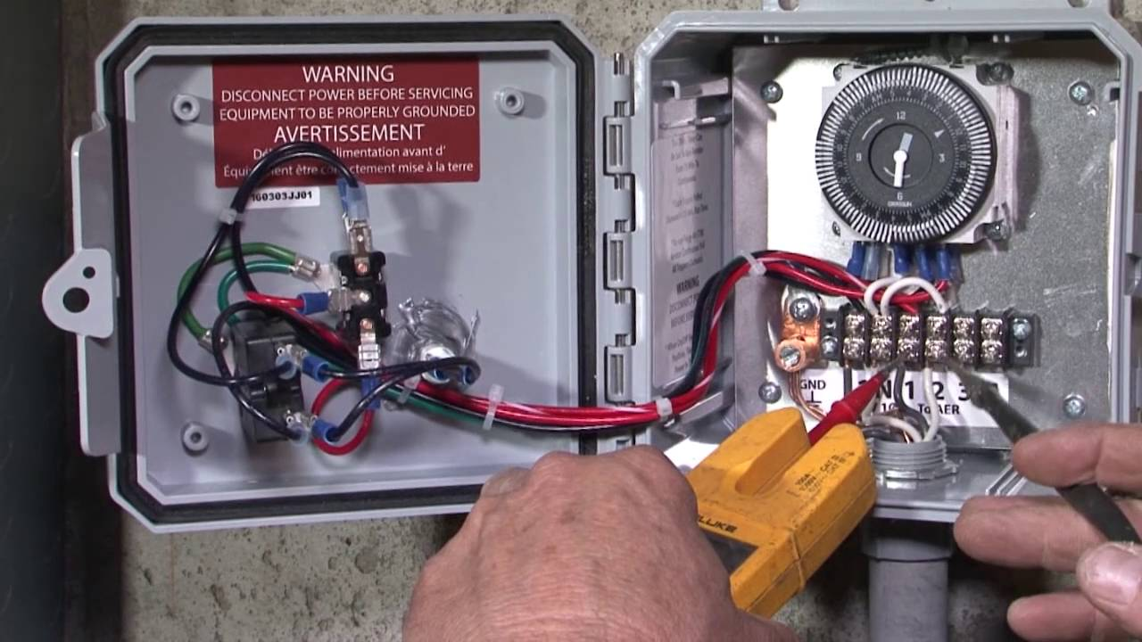 Time Control Panel : Red alert timer control panel installation youtube