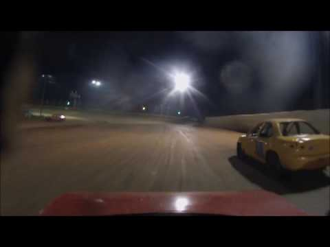Moler Raceway Park 8-19-16 Compact Heat #2 View from #20 Ryan Barrett